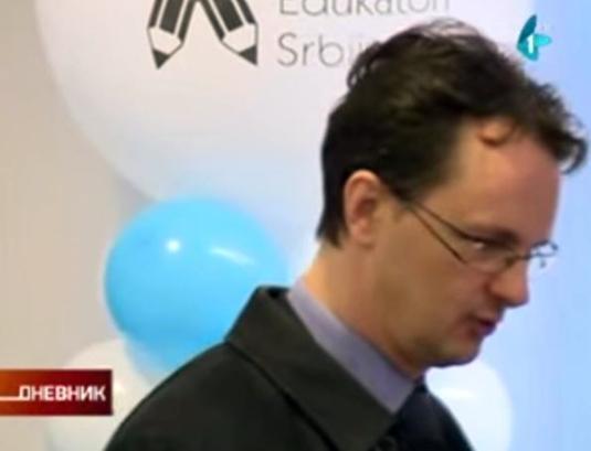 Др Срђан Вербић, министар просвете