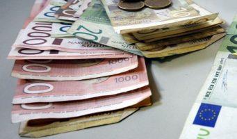 Просечна августовска зарада 45.286 динара