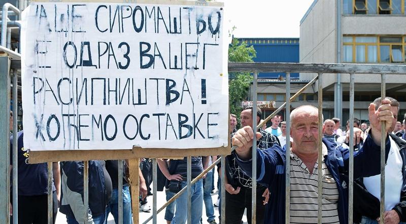 """Инвалиди """"Заставе ИНПРО"""" који штрајкују су у све тежем стању"""