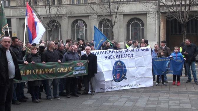 У недељу заједнички протест Војног и Полицијског синдиката