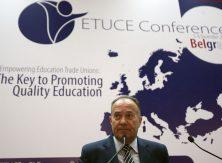 Шарчевић: Дугорочно решити статус запослених у образовању