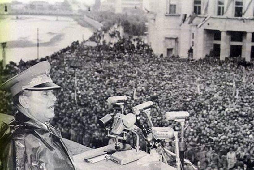 Tito drzi govor