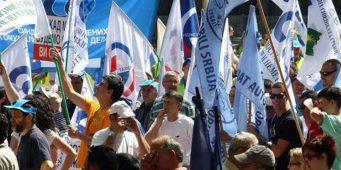 1. мај: Просветари на заједничком протесту