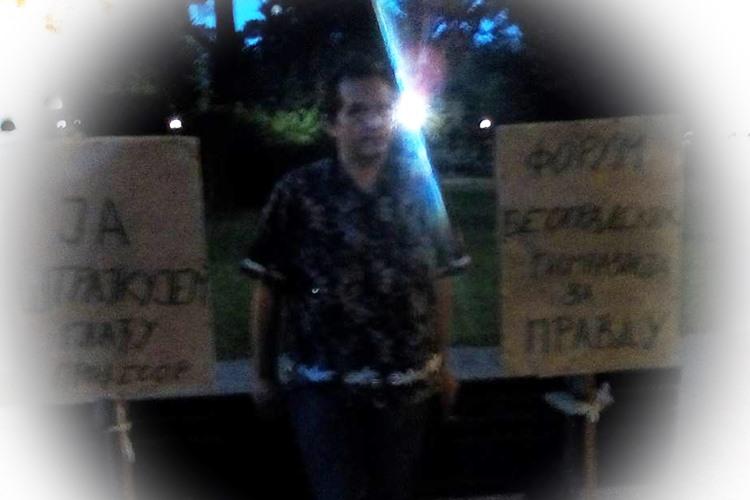 Петар Благојевић: Други дан трећег штрајка глађу!