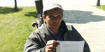 Петар Благојевић по трећи пут штрајкује глађу