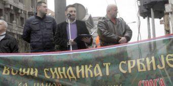Влада крши закон игноришући војни синдикат