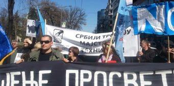 Договор или штрајк просветара у октобру