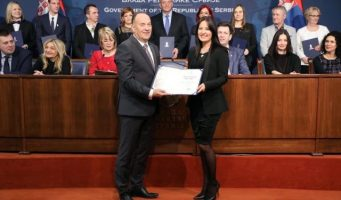 Министар Шарчевић уручио Светосавске награде