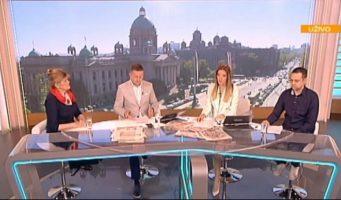 Емисија Јутро са Јованом и Срђаном: Гости Биљана Лајовић и Александар Марков