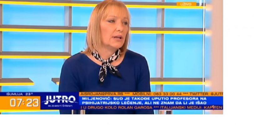 Светлана Миљеновић о случају Буљугић у Јутарњем програму ТВ Прва