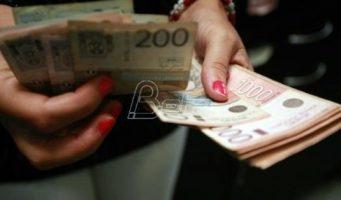 Просечна плата у Србији 46.450 динара