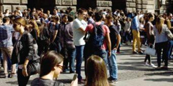 Студенти у протесту због одлива мозгова из Србије