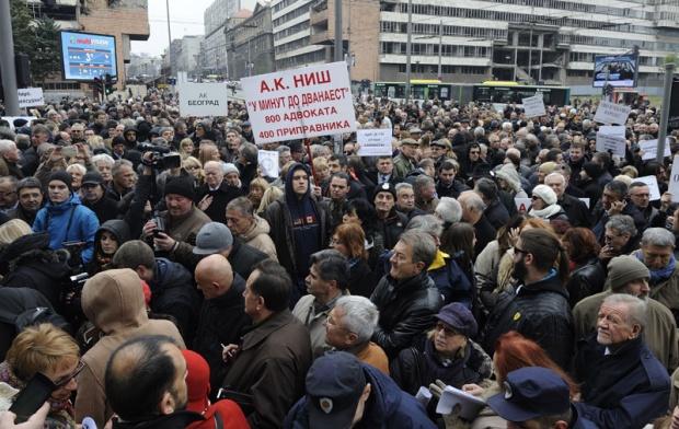 Адвокати опет прете штрајком