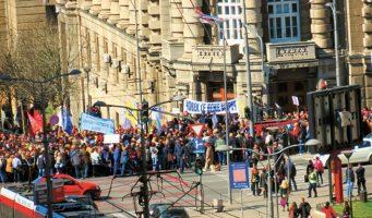 Синдикати сложни. Заједнички протест 31. августа