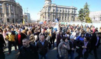 Скраћени часови – Протест и штрајк УСПРС у петак
