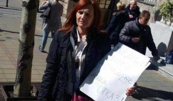 Учитељица штрајкује глађу испред Владе: Чекам министра!