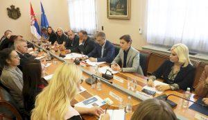 Форум београдских гимназија на састанку у Влади Републике Србије