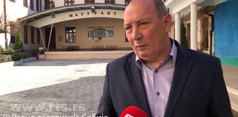 Директор чачанске гимназије распустио јутарњу смену